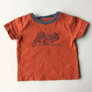 Roots Orange T-shirt * 6-12M